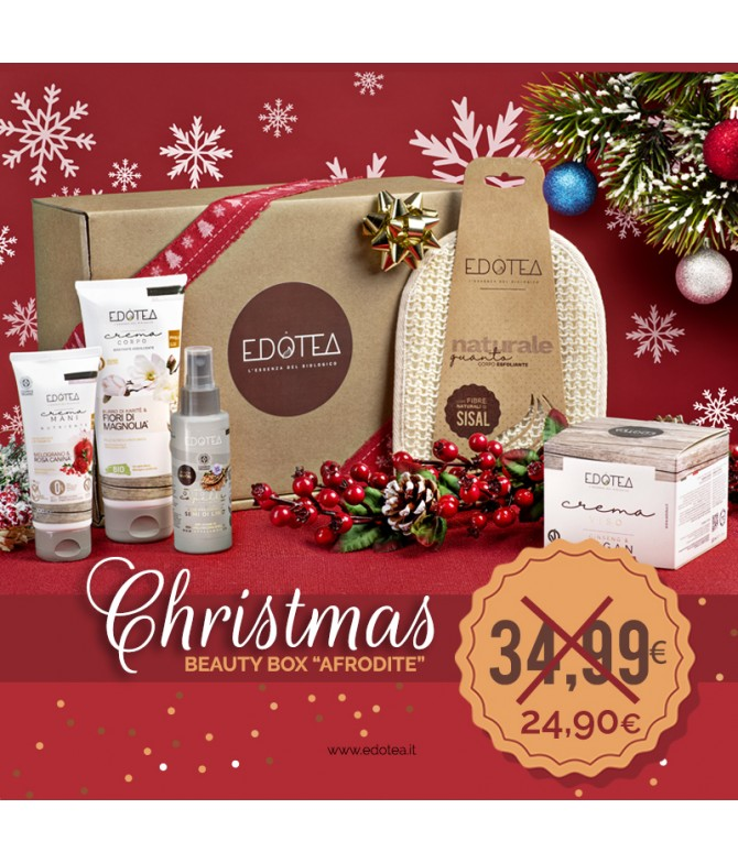 Christmas Beauty Box Afrodite